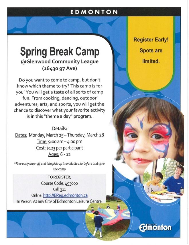 Spring Break Camp - RC